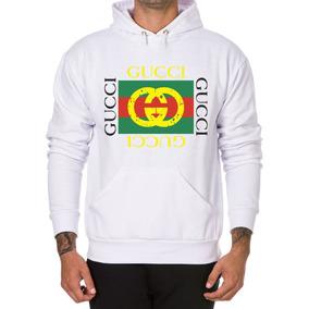 Blusa Moletom Careca Gucci Branca - Camisetas e Blusas no Mercado ... 1e1d1f0ce68
