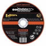 Disco De Corte Gladiator Amoladora Acero 4 1/2 115x1.2x22