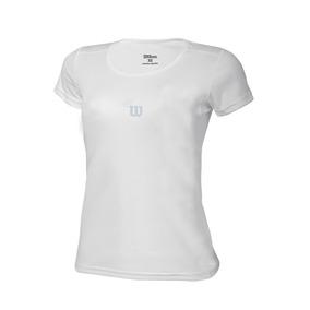 Polo Para Niñas Wilson - T-shirt Core Inf W Blanco - Tenis