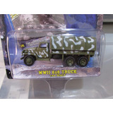 Johnny Lightning Militar Ww2 6x6 Truck Caminhão Exercito