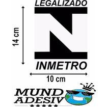 Adesivo Inmetro Legalizado Turbo Fixa Rebaixado Nitro Carro