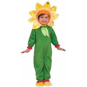 Disfraz Talla 2 Años Flor Girasol Primavera Niña Bebe Niña