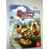 Backyard Sports Rookie Rush - Wii - Original Completo