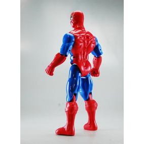 Figura Spider Man Avengers Hombre Araña Nuevo 40 Cm Con Luz