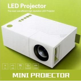 Mini Projetor Portátil Led 600 Lúmens Excelvan Yg-310