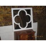 Hermoso Espejo Marco De Madera Diseño Muy Decorativo