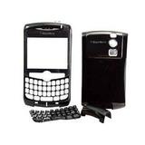 Carcasa Blackberry Curve 8310 8320 8300 Negra Bvn