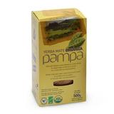 Yerba Mate Orgánica Pampa X 500g Caja X 10 Paquetes