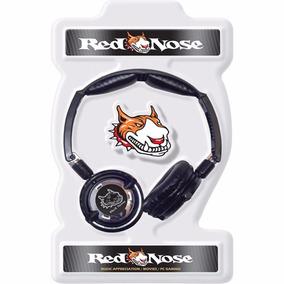 Fone De Ouvido Pc Gamer Headphone Red Nose Xtreme