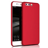 Funda Para Celular Huawei P9 Lite 2017 Color Rojo Metalizado