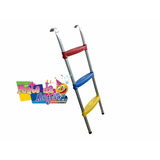 Escada Para Cama Elástica, 3,05 / 3,66 / 4,27mt 3 Degraus
