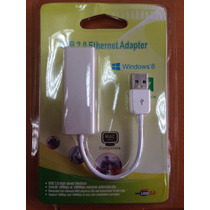 Adaptador Convertidor Usb 2.0 Lan Red Rj45 Ethernet Tarje Us