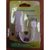 Adaptador Convertidor Usb 2.0 Lan Red Rj45 Ethernet Tarje Us
