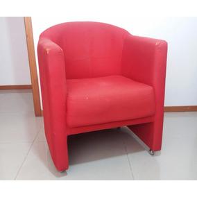 Poltrona Vermelha Tok Stok Usada Retirada Niterói
