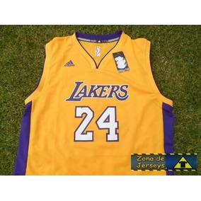 Jersey adidas Los Angeles Lakers Amarilla Kobe Bryant 23