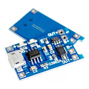 Cargador Baterias Lithio/lipo 18650 C/protector Tp4056 Pdiy-