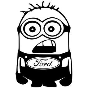 Ford F150 F250 Focus Van Taurus Fusión Vinilo Minion Engoma