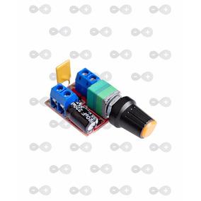 Controlador De Velocidade Motor Dc 6v 12v 24v 35v 5a Pwm