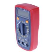 Multímetro Pro Tester Digital Con Buzzer Tension Dt33c