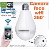 Camara Espia 360° Foco Camara De Techo Espia