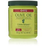 Organic Root Stimulator Aceite De Oliva Crema Alisadora Pro
