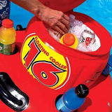 40-1003 Remol Hielera Inflable Flotante Rojo - Sportsstuff