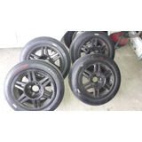 Llantas Sudam 13x7 Con Slick Pirelli P Zero
