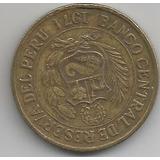 Moneda De Peru 1 Sol De Oro Año