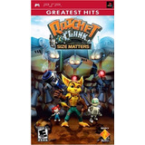 Ratchet & Clank Size Matters Psp En Tecno-gaming