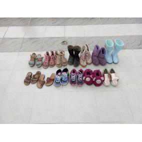Lote De Zapatos Para Niña Varios No. Del 19 Al 21 13 Pares eb7117a2cb860
