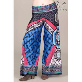 Maxi Faldas Y Pantalones Flying Tomato Diseños Mandala