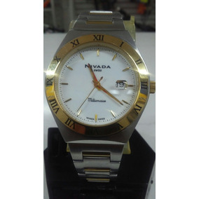 Reloj Nivada Millonarie Modelo Np3360 Extensible Color Acero