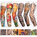 Tatuagem Tattoo Manga De Tecido Unisex A Pronta Entrega