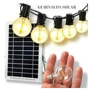 Guirnalda Solar 20 Luces Led Batería Litio