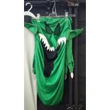 Máscara Y Guantes Monstruo Verde Halloween