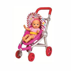 Boneca Little Mommy Bebe Com Carrinho Mattel