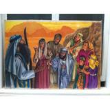 Pintura Al Oleo Motivo Religioso