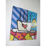 Cuadros Romero Britto Diseños Modernos Arte Pop 25x25