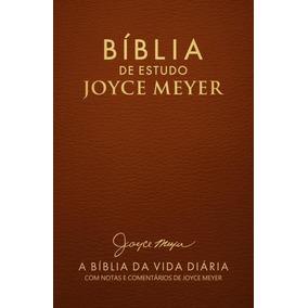 Bíblia De Estudo Joyce Meyer - Capa Terra