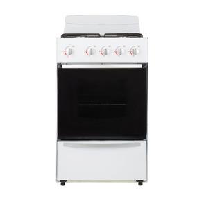 Cocina Patrick Cpf2251bvs Multigas Blanca 51 Cm Mesada Acero