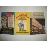 Programas De Teatro Y Cine Antiguos De Coleccion)