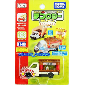 Tomica Tecology Ramen Shop Tomy Camioneta Faroles Luminosos