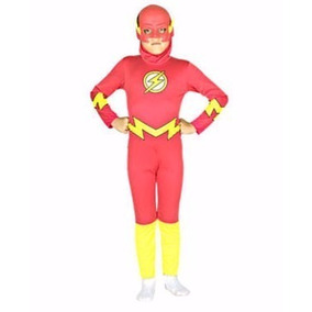 Disfraz De Flash Clasico Original Con Licencia Casa Valente