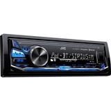 Radio Para Carro Jvc Kd X330bts Con Bluetooth Usb Aux