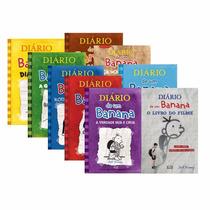 Coleção Diário De Um Banana (8 Volumes) - Lacrados