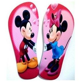 Chinelo Mickey E Miney (personalizado)
