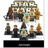 Set De Figuras Star Wars, Jedi Knights, X 6 Unidades Legos