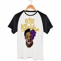 Camisa Raglan Wiz Khalifa Taylor Gang Swag Rap