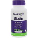 Natrol Biotin Tabletas De Fuerza Máxima, 10,000mcg, 100