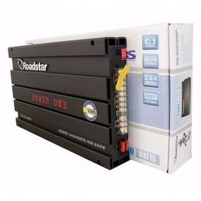 Módulo Amplificador Roadstar Power One Rs4510 2400 Novo